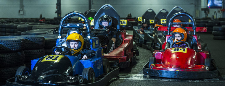 The only go-kart centre for children of all ages
